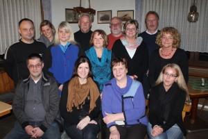 Vorstand 2013 der Freunde der Kinderkrebshilfe Gieleroth e.V.