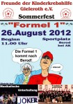 Plakat: Sommerfest 2012