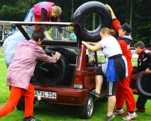 Kinderkrebshilfe feierte Sommerfest 2012 auf dem Beroder Ring