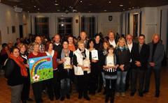 Scheckübergabe 2012 - 262.000 Euro für die Kinderkrebshilfe