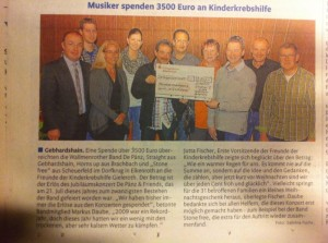 3500 Euro, De Pänz & friends