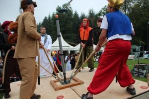 Orientalisches Flair und nasser Spaß beim Sommerfest 2013 der Kinderkrebshilfe, Foto: Heinz-Günter Augst