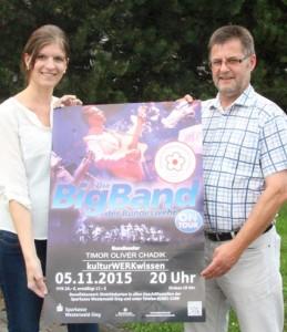 Big Band der Bundeswehr gastiert im Kulturwerk Wissen