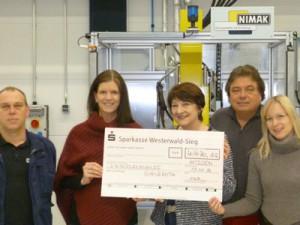 Nimak GmbH übergab Spende