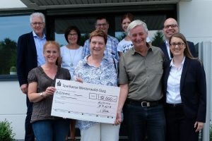 Anlässlich der Feier zum 20-jährigen Firmenjubiläum und dem Geburtstag von Geschäftsführer Uwe Herold, wurden 12.000,00 EUR Spenden gesammelt.