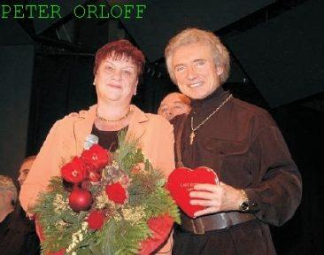 Peter Orloff unterstützt die Kinderkrebshilfe Gieleroth e.V.