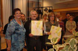 Scheckübergabe 2011 im Bürgerhaus Gieleroth - Freunde der Kinderkrebshilfe Gieleroth e.V.