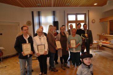 Scheckübergabe 2016 im Bürgerhaus Gieleroth - Freunde-der-Kinderkrebshilfe-Gieleroth