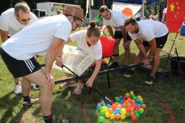 Kinderkrebshilfe Gieleroth Sommerfest 2018, Artikel Rhein-Zeitung 27.08.2018 (Text/Bild: Heinz-Günter Augst )